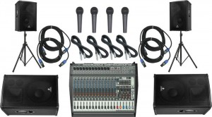 Behringer PMP6000/B1520 Pro Mains And Monitors P.A. Package