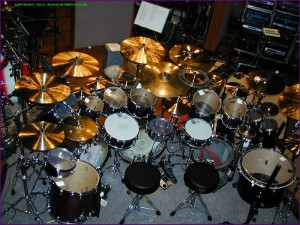 Mike Portnoy\'s Drumset