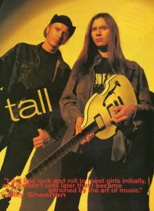 Billy Sheehan and Paul Gilbert