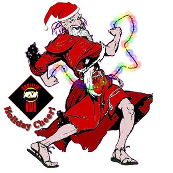 Shufflin' Noah Christmas Logo