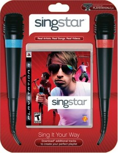 SingStar PS3 Bundle