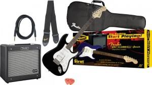 Fender Affinity Strat HSS With G-DEC Junior Amplifier