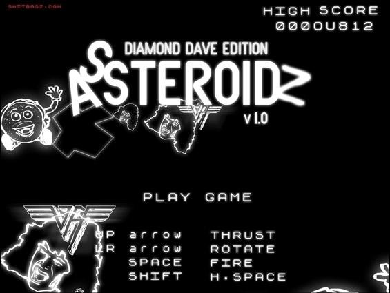 Assteroidz - Diamond Dave Edition