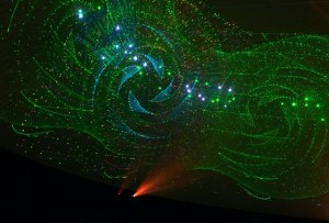 Hansen Dome Theater Laser Show