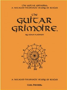The Guitar Grimoire - A Notated Intervallic Study Of Scales