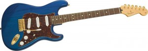 Fender Deluxe Player's Stratocaster - Transparent Blue Finish