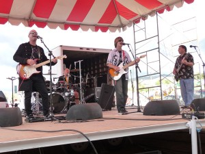 Distant Thunder Rocks The Summit County Fair (L.-R. Matt Rushton, Frank Lee, Erik Rushton, Kent Rushton)