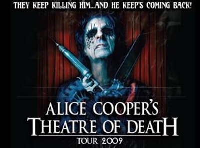 Alice Cooper Theater Of Death Tour 2009