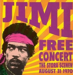 The Concert Was Free, But I Bet Jimi Got Paid