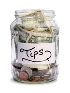 Full Tip Jar? Spread The Wealth Around
