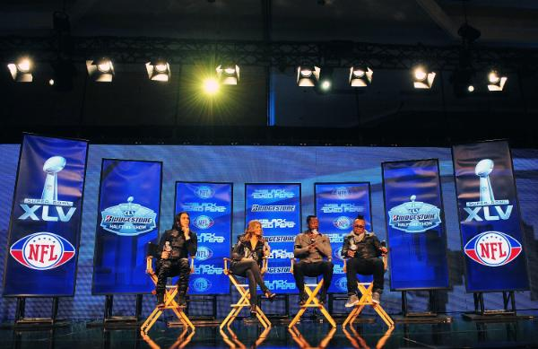Black Eyed Peas Super Bowl Press Conference