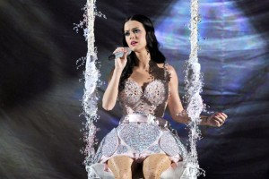 Katy Perry Performing At The 2011 Grammys