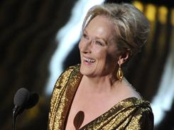 Meryl Streep Best Actress For The Iron Lady